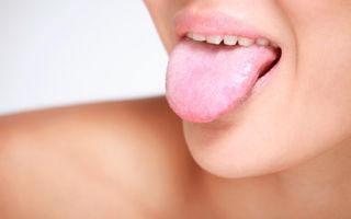 Природа белого налета на языке у взрослых