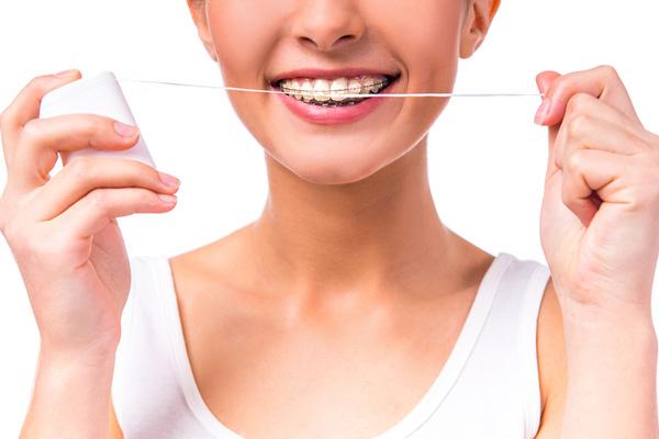 зубная нить для брекетов